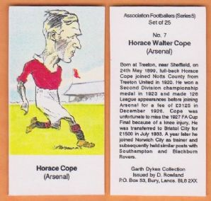 Arsenal Horace Cope 7